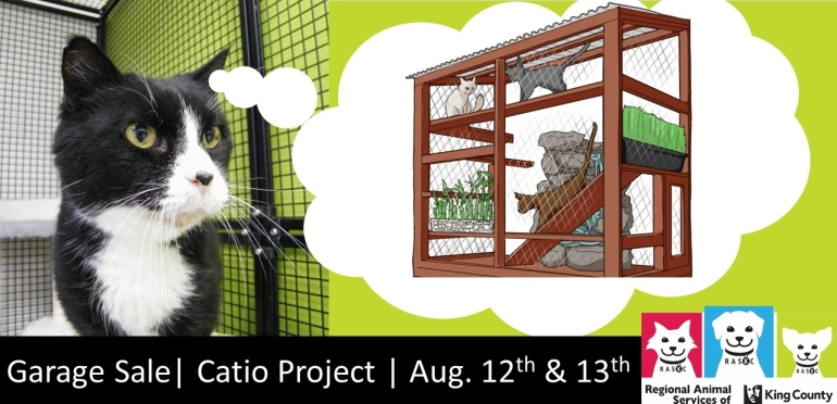 Catio-garage sale-banner